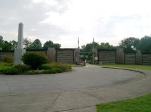 Entrance to Reconstructed Fort Boonesborough